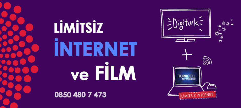 Digiturk Film internet Paketi Kampanyası
