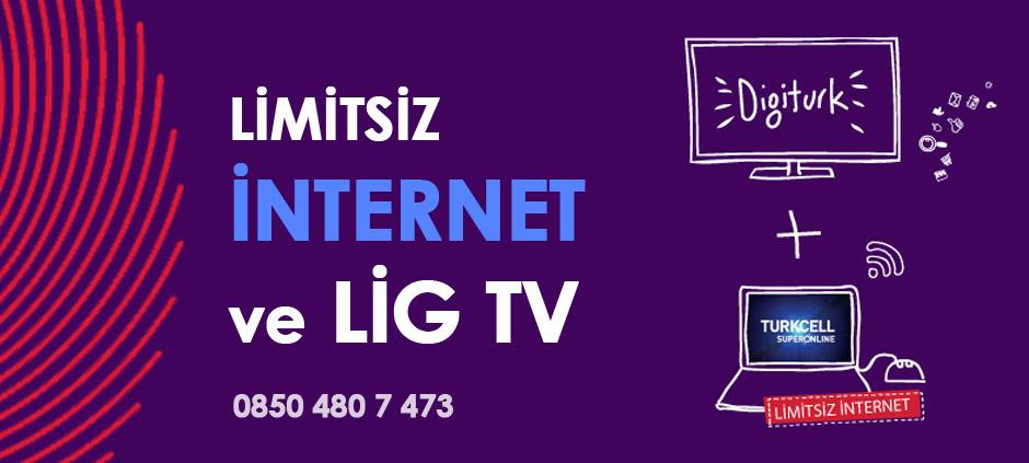 Digiturk Lig Tv İnternet Paketi Kampanyası
